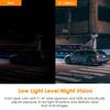 Vantrue S1 Dual Lens 1080p Low-Light Dash Cam   High Dynamic Range Means Clear Video Even at Night