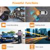Vantrue S1 Dual Lens 1080p Low-Light Dash Cam | Features & Functions