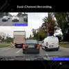 Viofo A129 Duo Dual Lens Dashcam | Dual Channel Recording for Front and Rear Sample Footage