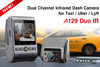 Viofo A129 Duo IR Dual Lens Dash Cam for Front & Interior | Great for Taxi or Rideshare/Uber/Lyft