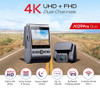 Viofo A129 PRO Duo | Key Features - WiFi, GPS, 4K, Up to 256GB Storage, Super Night Vision, Buffered Parking Mode