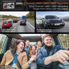 Vantrue N4 Dash Cam   3-Channel Solution for Front, Inside & Rear
