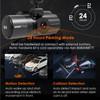 Vantrue N4 Dash Cam | 3-Channel Solution for Front, Inside & Rear | 24 Hour Parking Mode Capable