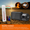 Vantrue N4 Dash Cam | 3-Channel Solution for Front, Inside & Rear | High Temperature Tolerant