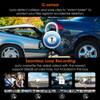 Vantrue N4 Dash Cam | 3-Channel Solution for Front, Inside & Rear | Built-In G-sensor