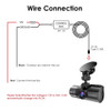 Vantrue Direct-Wire Hardwire Kit for Professional Installation and Parking Mode | Fits Vantrue N4 3-Channel Dashcam | Hardwire Diagram