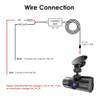 Vantrue Direct-Wire Hardwire Kit for Professional Installation and Parking Mode | Fits Vantrue N4 3-Channel Dashcam | Hardwire Diagram