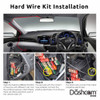 Vantrue Direct-Wire Hardwire Kit for Professional Installation and Parking Mode | Fits Vantrue N4 3-Channel Dashcam | Hardwire Installation Diagram