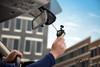 Garmin Dash Cam 47 | Quick Attach/Detach via Magnetic Windshield Mount