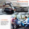 Vantrue N2S 2K Dual Lens Dash Cam | Loop Recording, G Sensor