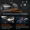 Vantrue N4 3-Channel DIY Dash Cam Bundle | 24 Hour Parking Mode