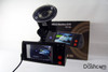 DVR-P7S1 Dashcam mounted rear view