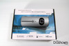 DVR-R300 Dual Lens Dashcam with packaging top