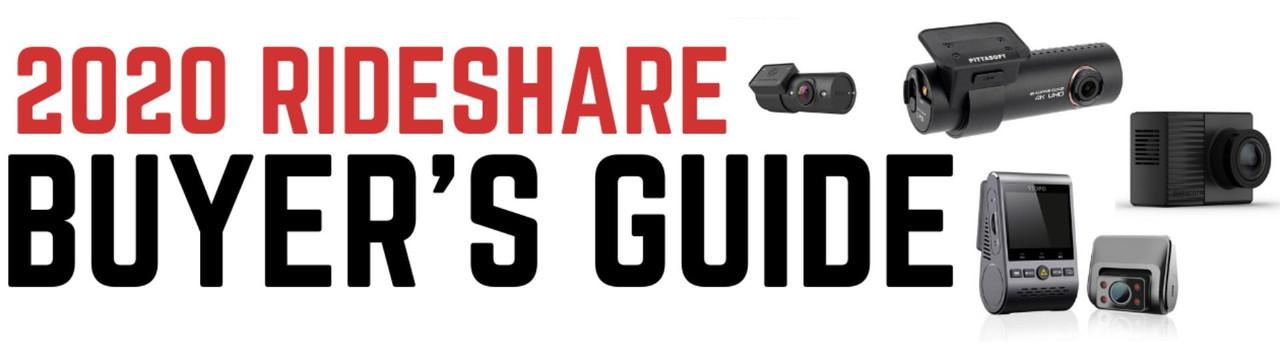 2020 Dash Cam Buyer's Guide for Rideshare Uber & Lyft