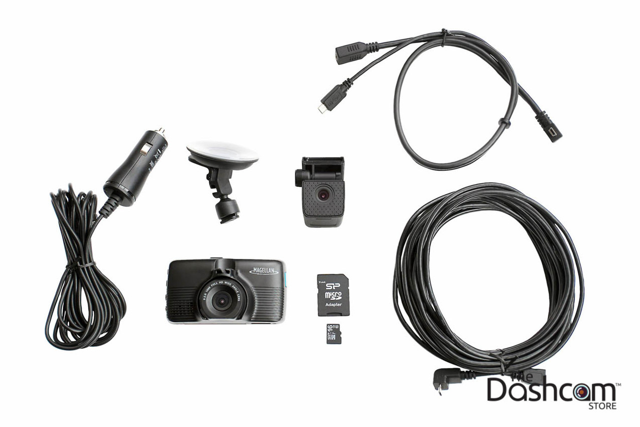 Magellan MiVue 480D SuperHD Dual Lens Dashcam For Front