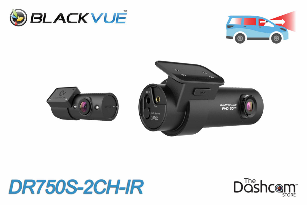 BlackVue DR590W-2CH 1080p Dual-Lens Dashcam for Front//Rear with WiFi w//64GB Card