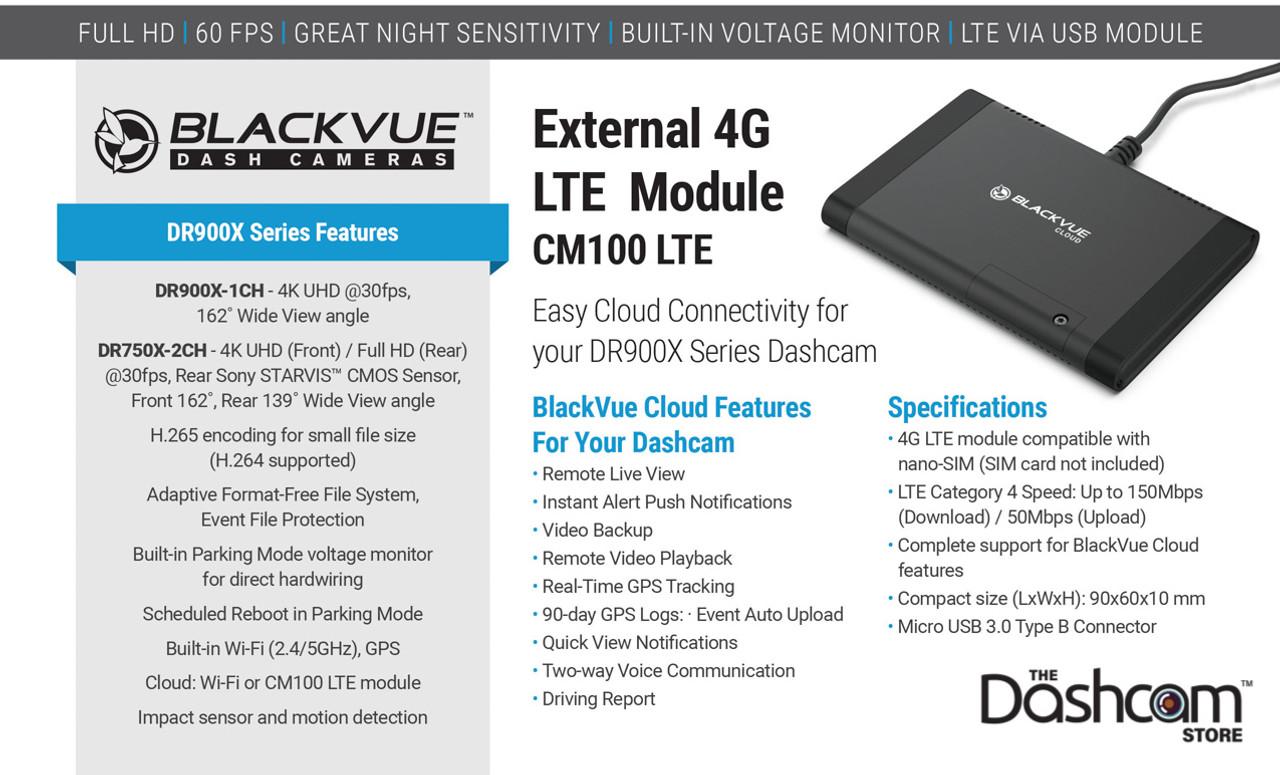 BlackVue X-Series CM100LTE Module Details Image