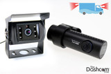 BlackVue DR650GW-2CH-Truck 1080p Full HD dual lens dash cam with GPS and waterproof rear camera, for trucks and other commercial vehicles