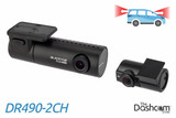 BlackVue DR490-2CH 1080p Full HD dual-lens dual-1080p dash cam | For Front and Rear Recording