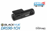 BlackVue DR590-1CH Dashcam   For Front-Facing Video and Audio Recording