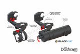 BlendMount Specialty BlackVue Dashcam Mirror Stem Mount | Speciality Mount Component Diagram