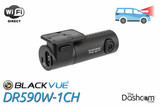 BlackVue DR590W-1CH Dash Cam | For Front-Facing Video and Audio Recording with WiFi | Main