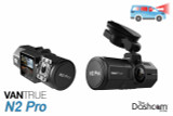 Vantrue N2 Pro Dual Lens 1080p Night-vision Dash Cam | for Front + Inside Video and Audio Recording