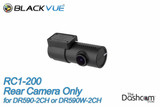 BlackVue DR590-2CH or DR590W-2CH Secondary (rear-facing) 1080p Camera | Camera and Mounting Bracket Included