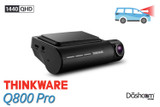 Thinkware Q800 Pro Dash Cam | 2K Quad HD 1440p Front-Facing Dash Cam