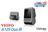 Viofo A129 Duo IR Dual Lens Dash Cam for Front & Interior | For Sale at The Dashcam Store