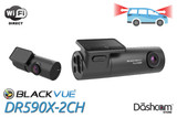 BlackVue DR590X-2CH Dash Cam   For Front & Rear Video and Audio Recording