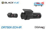 BlackVue DR750X-2CH-IR Dual Lens Taxi/Rideshare Dash Cam | Brand New & For Sale at The Dashcam Store