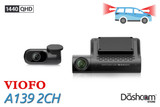 Viofo A139 2 Channel 2K Dual Lens Dash Cam | For Sale At The Dashcam Store
