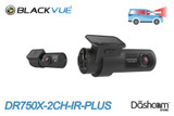BlackVue DR750X-2CH-IR-PLUS Dual Lens Taxi/Rideshare Dash Cam | Brand New & For Sale at The Dashcam Store