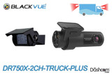BlackVue DR750X-2CH-Truck-PLUS Cloud-Ready Dash Cam w/ Waterproof Exterior Rear Camera   Brand New For Sale