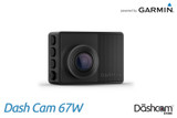Garmin Dash Cam 67W | 1440p Single Lens Dashcam with 180° Field of View | For Sale at The Dashcam Store