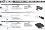 Infographic: 3 Ways To Install & Power Your BlackVue X-Series Dash Cam