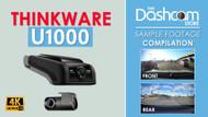 The New 4K Thinkware U1000 Dash Cam | Sample Footage