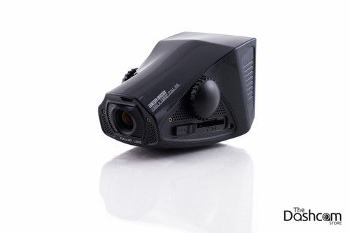 PAPAGO! P3 1080p dash cam with GPS - front 3/4 view