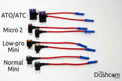 From top to bottom: ATO/ATC/ATM, Micro2, Low-Profile Mini, Normal Mini
