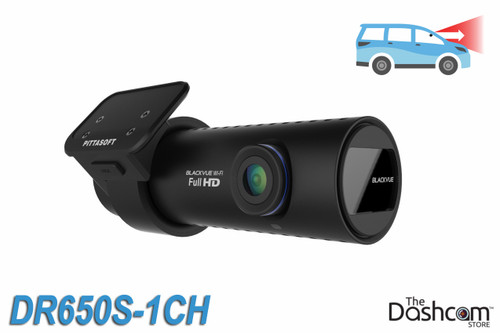 BlackVue DR650S-1CH Cloud-Capable 1080p Full HD Single Lens Dash Cam with WiFi, GPS, motion detection   For Front-Facing Recording