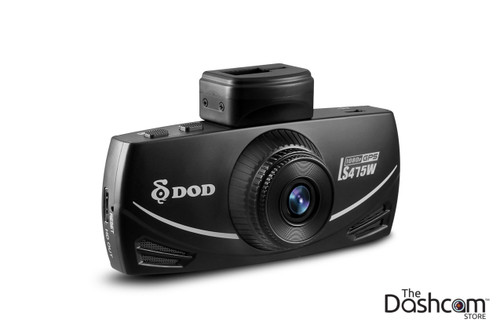DOD LS475W Full HD 1080p 60fps Single Lens GPS Dash Cam | Front View