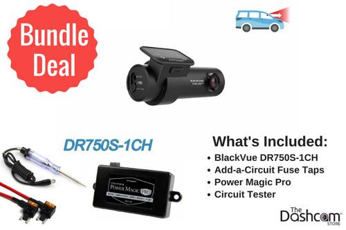 BlackVue DR750S-1CH Dash Cam DIY Bundle | Contents