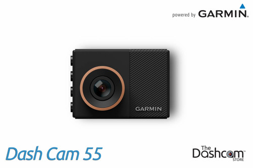 Garmin Dash Cam 55 | 1440p Single Lens Dashcam with Voice Control, GPS & WiFi