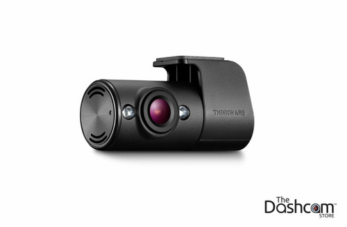Inside-Facing Secondary Camera w/ Infrared LEDs for Thinkware F100 Dashcam | TWA-F100IFR Passenger's Side Front View