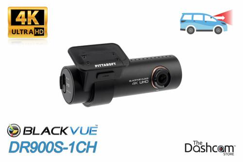 BlackVue DR900S-1CH 4K Single Lens GPS WiFi & Cloud-Capable Premium Dashcam