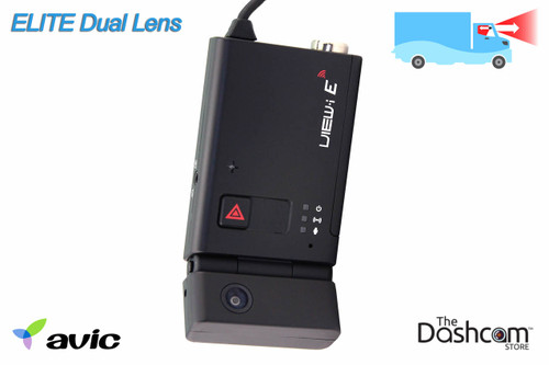AVIC Elite Professional-Grade Dual Lens Tamper-proof GPS Dashcam | For Front and Inside Fleet Recording