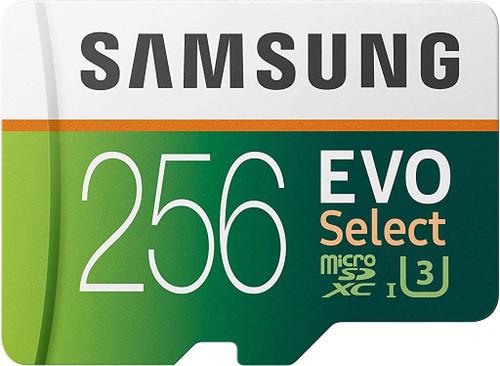 Samsung EVO Class 10 Ultra-fast Micro SD Memory Card for Dashcams | 256gb