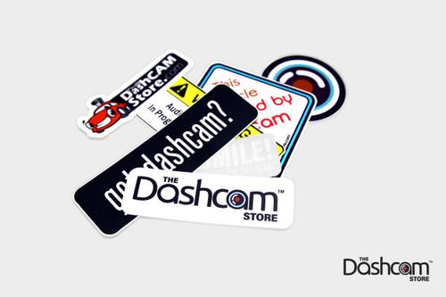 Dash Cam Sticker Pack | Assorted Designs by The Dashcam Store