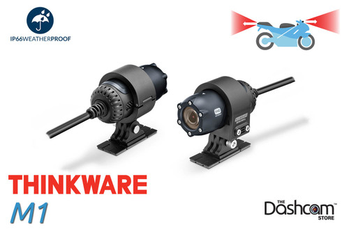 Thinkware M1 Waterproof Motorcycle/ATV/UTV 2CH Dashcam | For Sale at The Dashcam Store